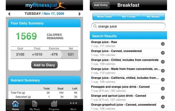 Database selection for breakfast